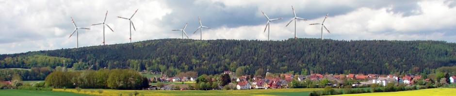 Keine Windkraft in Ebersburg und Eichenzell